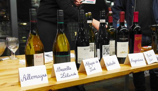 dégustation vins du monde twil