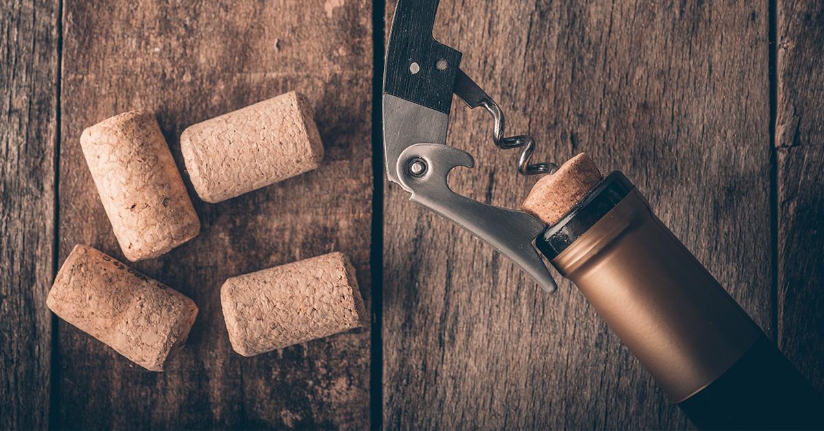 ouvrir une bouteille de vin